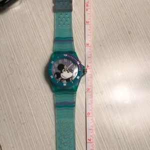 Mickey Mouse watch, sweep seconds hand
